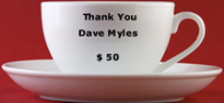 Thank you Dave Myles...