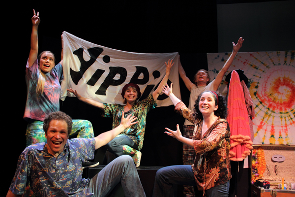 The cast of Yippies In Love