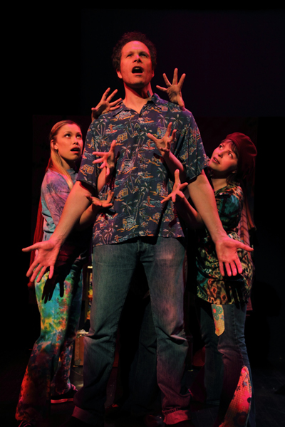Emily Rowed, Steve Maddock, and Rebecca Shoichet in Yippies In Love